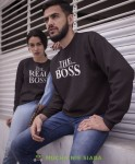 The boss The real boss Bluzy dla par unisex